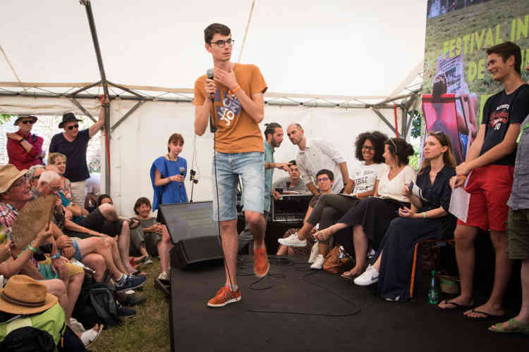 Concours d'éloquence suivi de près par Audrey Pulvar et Cécile Duflot, samedi 13 juillet.