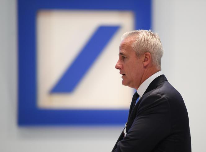 Garth Ritchie, chef de la banque d'investissement, s'en va avec un parachute doré de 11 millions d'euros. Ici, le 24 mai 2018 à Francfort.