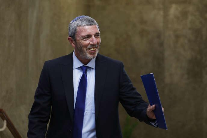 Le ministre israélien de l'éducation, Rafi Peretz, le 14 juillet.