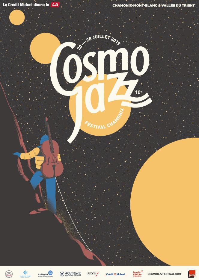 André Manoukian a fondé le festival Cosmo Jazz en2010, avec l'idée d'emmener les musiciens et le public dans divers lieux autour de Chamonix.