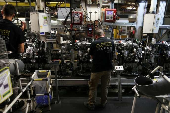 Chaque semaine, environ deux personnes ont un accident du travail nécessitant un arrêt, dans l'usine Renault de Cléon, en Seine-Maritime.
