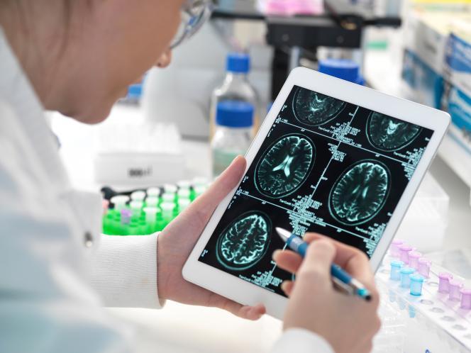 IRM cérébrale.