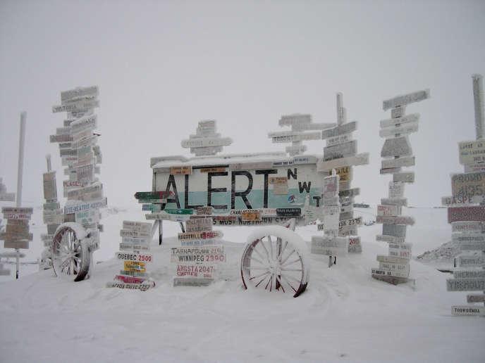 Avec 21°C, un record de chaleur enregistré près du pôle Nord