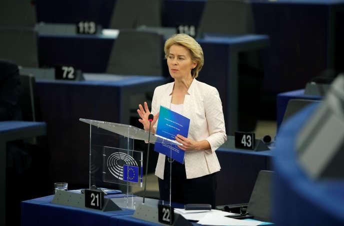 L'Allemande Ursula von der Leyen a été élueprésidente de la Commission européenne le 16 juillet.