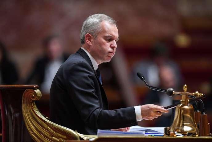 François de Rugy, alors président de l'Assemblée nationale, le 19 juin 2018.