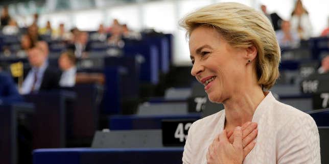 Ursula von der Leyen a été élue présidente de la Commission européenne le 16 juillet.
