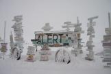 Alert, au Canada, estl'endroit habité le plus septentrional de la planète.