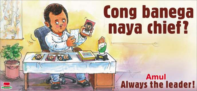 In India, Amul milk advertises with current events