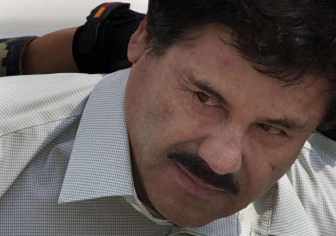 Le narcotrafiquant mexicain Joaquin Guzman, alias «El Chapo», en2014.