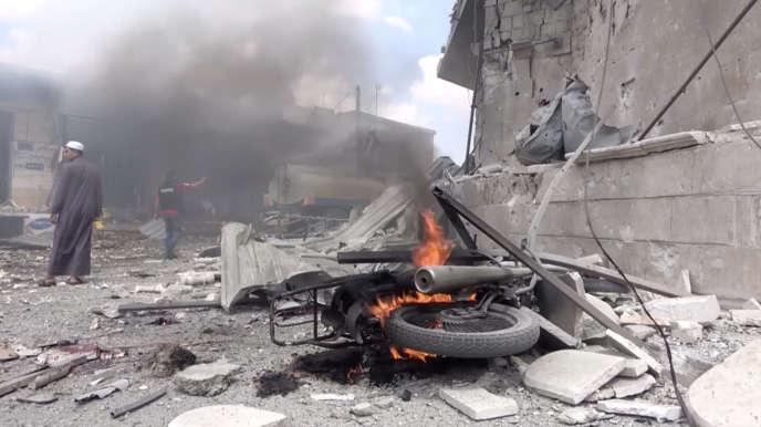 A Idlib (Syrie), le 16 juillet.