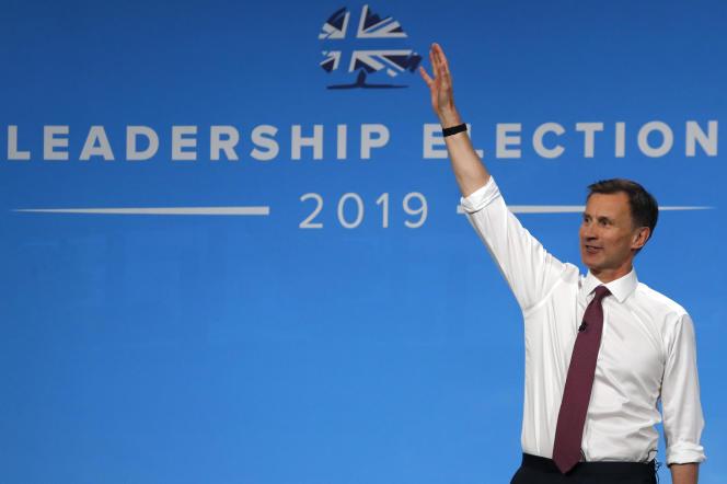 Jeremy Hunt lors de la session de questions-réponses à Londres, le 17 juillet.