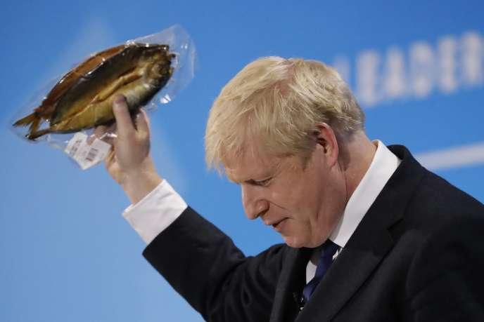 Boris Johnson lors de la session de questions-réponses à Londres, le 17 juillet.