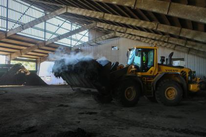 Depuis le début de l'année 2019, le site de Launay-Lantic a reçu 5 000 tonnes d'algues vertes,alors que la saison commence à peine.