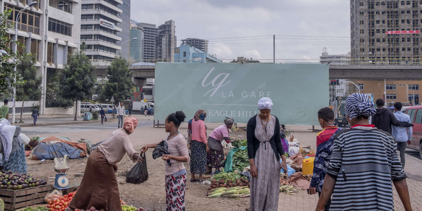 A small food market around La Gare area in Addis Ababa, Ethiopia. July 2019/Maheder Haileselassie Tadese