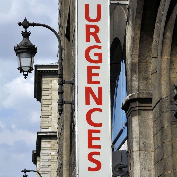 «Cette grève n'est donc que le symptôme aigu et la partie visible de l'iceberg de la maladie globale de l'hôpital et de l'accès aux soins de premiers recours.» (Photo: entrée des urgences de l'Hôtel-Dieu, rue de la Cité, à Paris.)