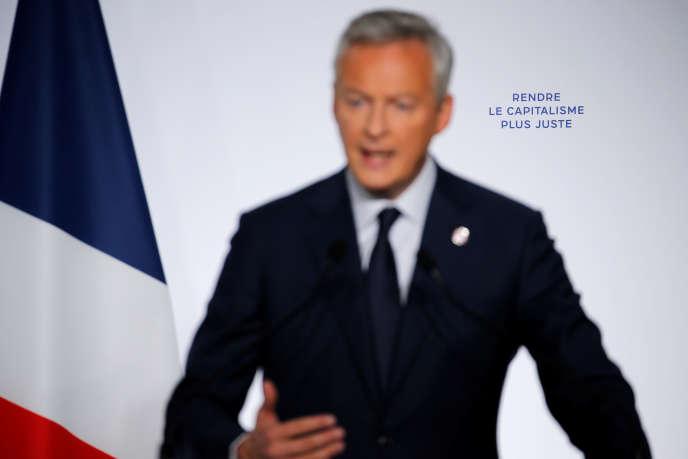 Le ministre des finances, Bruno Le Maire, le 18juillet.