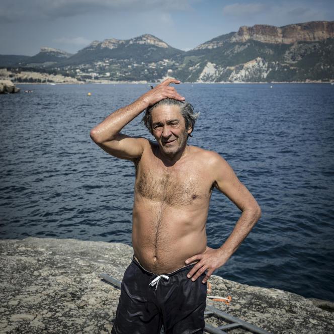 Rudy Ricciotti chez lui, à Cassis (Bouches-du-Rhône), le 26 mai.