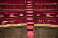 Banc des ministres à l'Assemblée nationale.