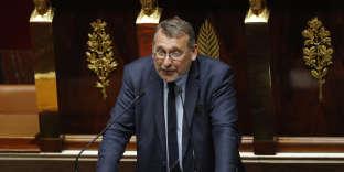 Le député LRM Joël Giraud le 17octobre 2017.