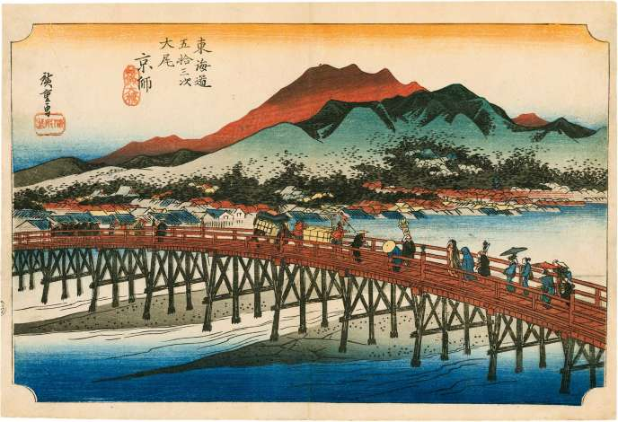 The travel diaries of Utagawa Hiroshige