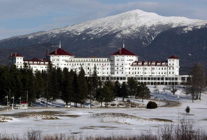L'hôtel Mount Washington (ici en janvier 2007), dans le New Hampshire (nord-est des Etats-Unis), où furent signés les accords de Bretton Woods.