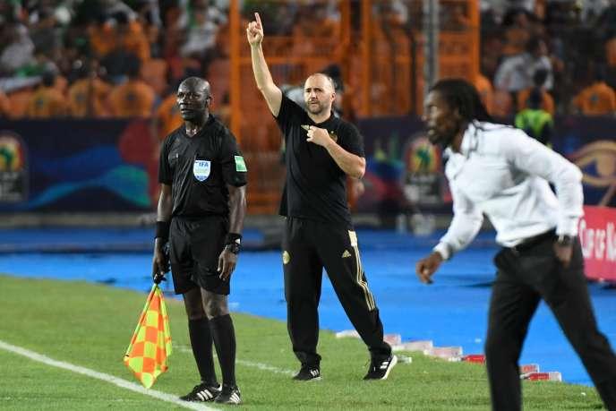 Djamel Belmadi, le sélectionneur algérien, et Aliou Cissé, le sélectionneur sénégalais, ont tous deux grandi à Champigny-sur-Marne.
