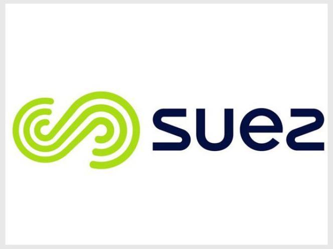 Logo de Suez.Le fonds activiste Amber Capital détient 1,9 % du groupe fançais,spécialiste du traitement de l'eau et des déchets.