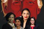 Dans ses dernières saillies racistes, Donald Trump visait particulièrement les Démocrates Alexandria Ocasio-Cortez, de New York, Ilhan Omar, du Minnesota, Ayanna Pressley du Massachusetts ou encore Rashida Tlaib du Michigan.