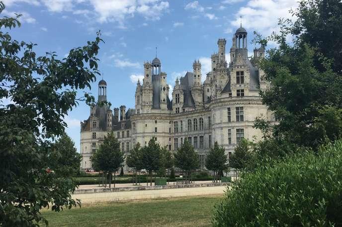 Le château de Chambord et ses jardins à la française, revenus à la vie après un chantier de restauration gigantesque.