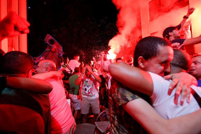 Dans les rues de Marseille, le 19 juillet.