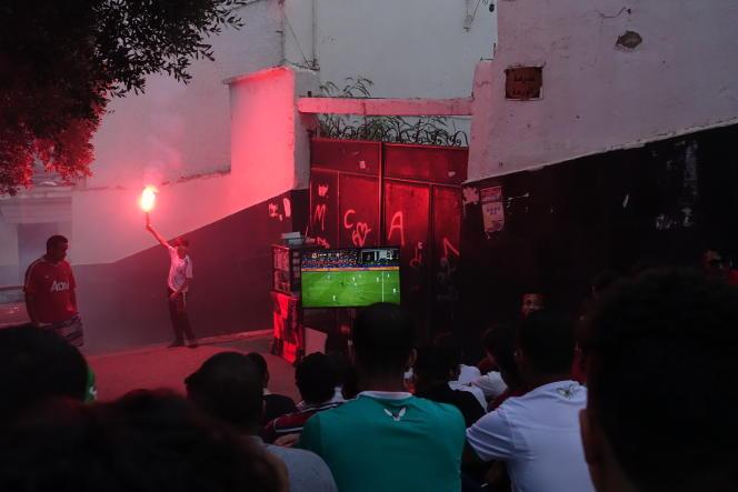 Dans le quartier de Telemly, dans le centre d'Alger, le 19 juillet.
