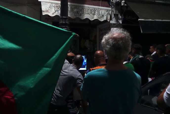 A Telemly , dans le centre d'Alger.