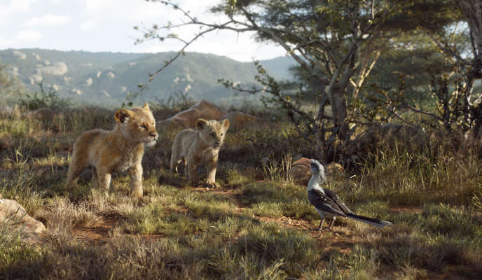 Une scène du film« Le Roi Lion», sorti en salle le 17 juillet.