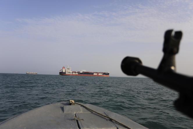 Le pétrolier battant pavillon britannique Stena Impero a été arraisonné par l'Irandans le détroit d'Ormuz le 19 juillet.