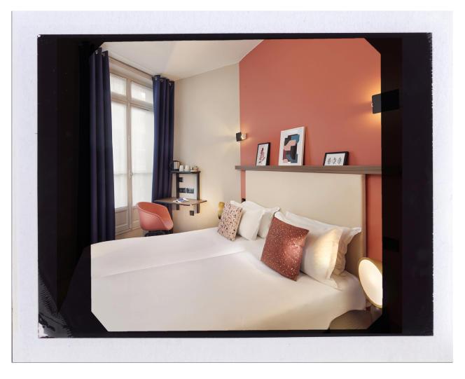 L'hôtel Petit Belloy Saint-Germain, à Paris.