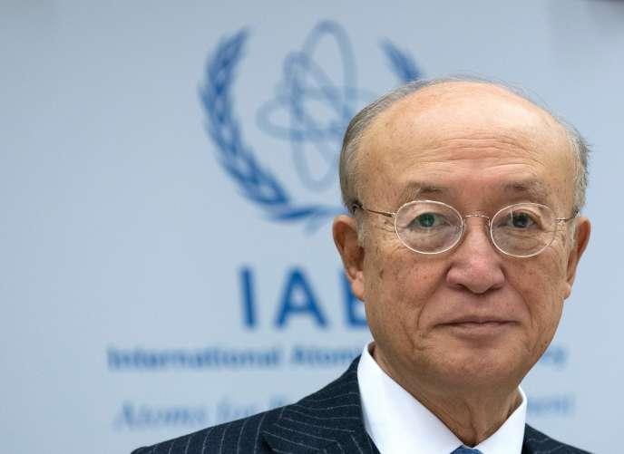 Le diplomate japonais dirigeait depuis dix ans l'agence, chargée notamment du suivi des engagements de l'Iran au titre de l'accord sur le nucléaire de 2015.