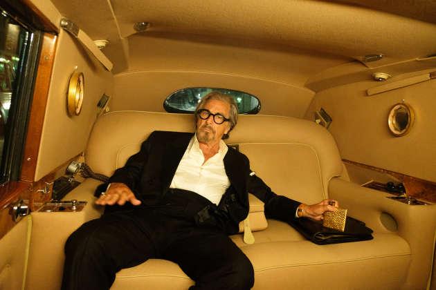 Al Pacino dans une scène coupée au montage de « Once Upon a Time in Hollywood », de Quentin Tarantino.