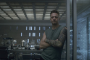 Jeremy Renner dans une scène du film « Avengers : Endgame».