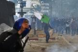 Répression par les forces de l'ordre algériennes de la manifestation pacifique du 1er mars 2019, à Alger.