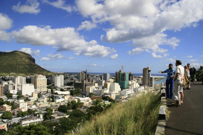 La capitale de l'île Maurice,Port-Louis, le 6 juin 2008.