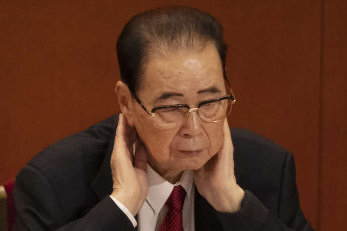 Mort de l'ancien premier ministre chinois Li Peng, «le boucher de Tiananmen»