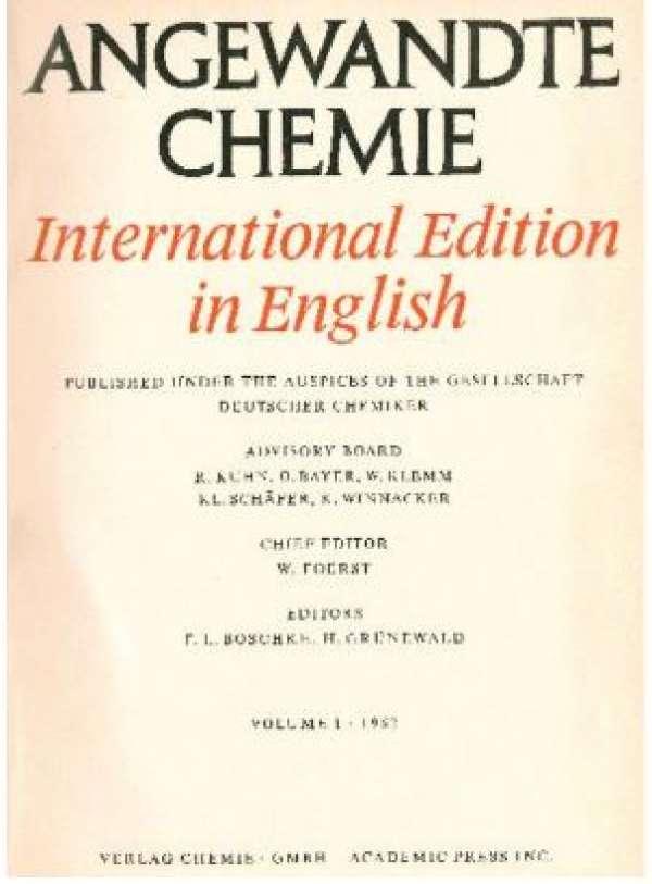 Premier numéro de l'édition internationale, en 1962.
