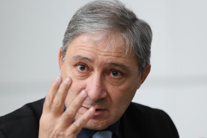 Le procureur de la République de Nice, Jean-Michel Prêtre,au palais de justice de Nice, le 19 janvier 2017.