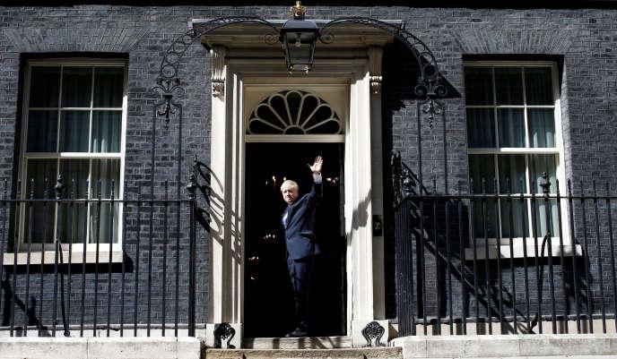 Boris Johnson le 24 juillet 2019.