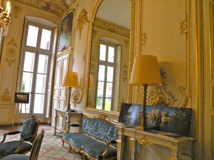 Antichambre de l'Hôtel de Roquelaure, ministère de l'Ecologie à Paris