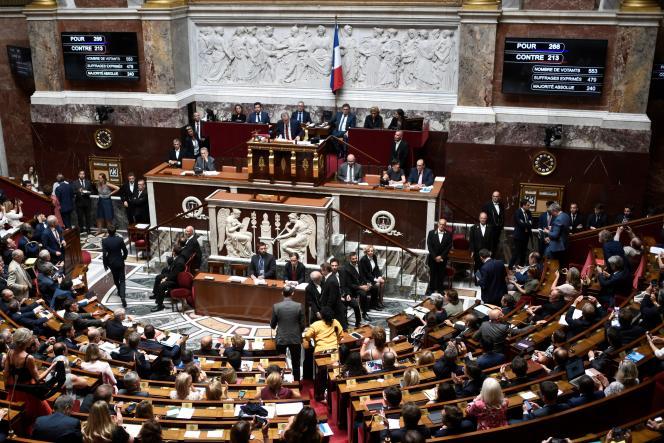Vote du CETA à l'Assemblée nationale, le 23 juillet.