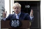 Boris Johnson a succédé à Theresa May au poste de premier ministre britannique, mercredi 24 juillet, réaffirmant que son pays allait « sortir de l'UE le 31 octobre, point à la ligne ».