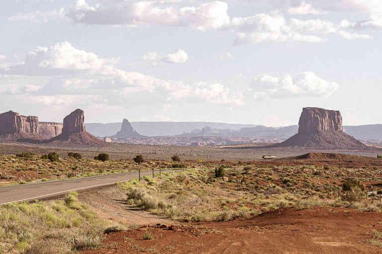 05 juin 2019. Monument Valley, le long de l'US 163. // Olivier Touron / Divergence