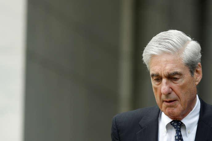 Le procureur Robert Mueller à Washington (Etats-Unis), le 24 juillet.