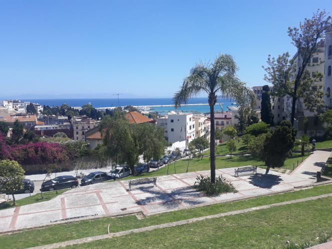 La « terrasse des Paresseux », à Tanger.